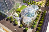 The planned new Amazon headquarters in downtown Seattle.
