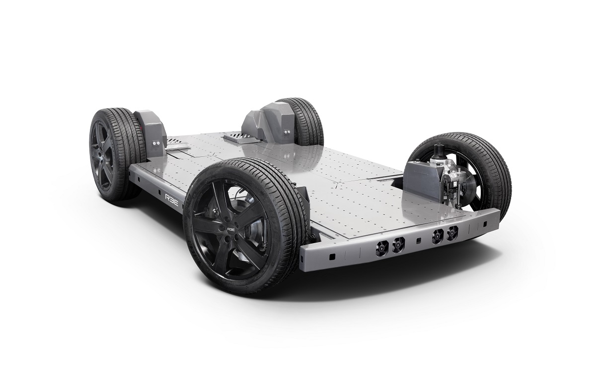 Israeli Startup Shows a Scalable and Flat EV Platform