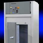 Despatch cabinet oven for burn-in of semiconductor devices