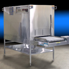 Despatch conveyor oven used for drying COVID-19 test samples