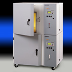 Despatch stackable benchtop oven for computer memory burn-in and test