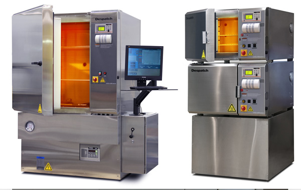 Despatch PCO2-14 Cabinet oVen and LCC stacked Lab oven for polyimide and epoxy curing