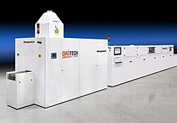 DriTech Dryer with CF-Series Metallization Firing Furnace