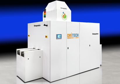 DriTech Dryer for back-end-of-line solar manufacturing