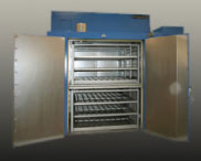 Dual Chamber Walk-in Oven for heat curing
