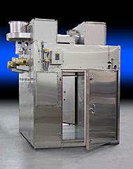 Granulation drying oven for pharmaceutical tablet manufacturing