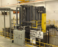 Solution heat treat furnace for aerospace manufacturing