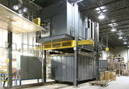 Aluminum Solution Heat Treat Furnaces for aerospace components