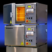 Despatch LCC industrial benchtop oven with HEPA filter for cleanroom lab or production