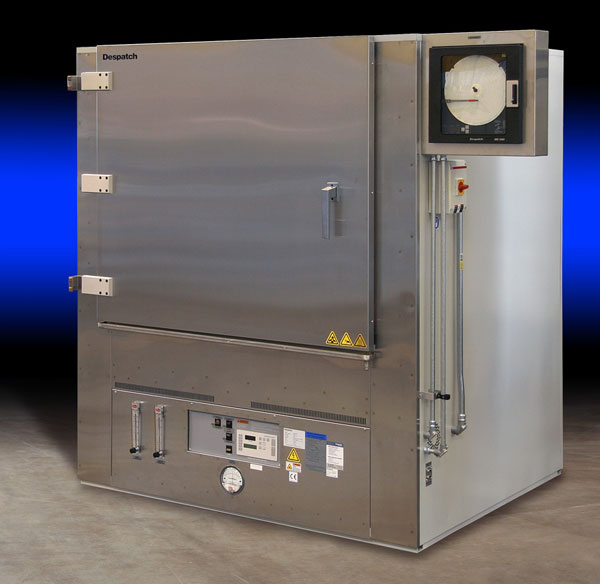 Despatch LNB industrial cabinet oven with nitrogen atmosphere for curing contact lenses
