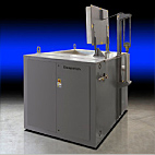 Despatch PTE top loading oven with pnematic lift door for aluminum heat treating