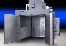 S-Series truck-in oven for batch processing of synthetic materials