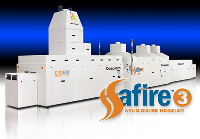 Safire Metallization Firing Furnace for solar production