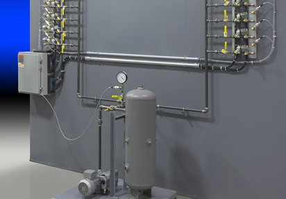 Vacuum bagging and pressure control system for composite curing