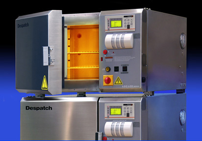 Despatch industrial benchtop oven for medical research lab cleanroom