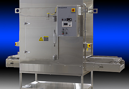 Despatch PCC industrial conveyor oven with HEPA filter for clean processing