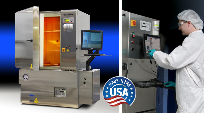 Despatch PCO2-14 polyimide curing oven for Semiconductor curing - Made in USA